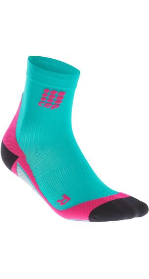cep Short Hardloopsokken Dames roze/turquoise